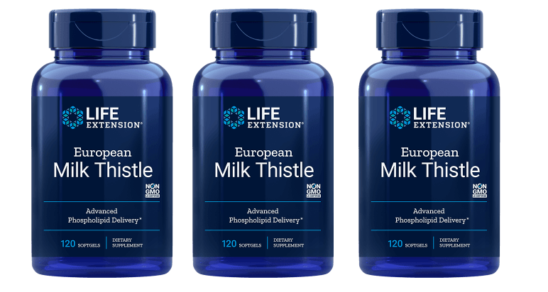 Life Extension European Milk Thistle, 120 Softgels, 3-pack