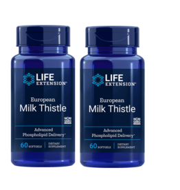 Life Extension European Milk Thistle, 60 Softgels, 2-pack