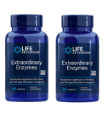Life Extension Extraordinary Enzymes | 60 Capsules, 2-pack