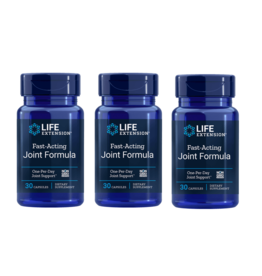 Life Extension Fast-Acting Joint Formula, 30 Capsules, 3-pack