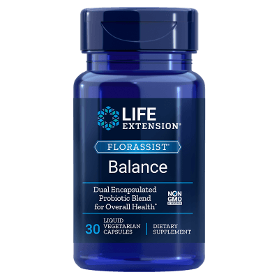 Life Extension Florassist® Balance, 30 Liquid Vegetarian Capsules