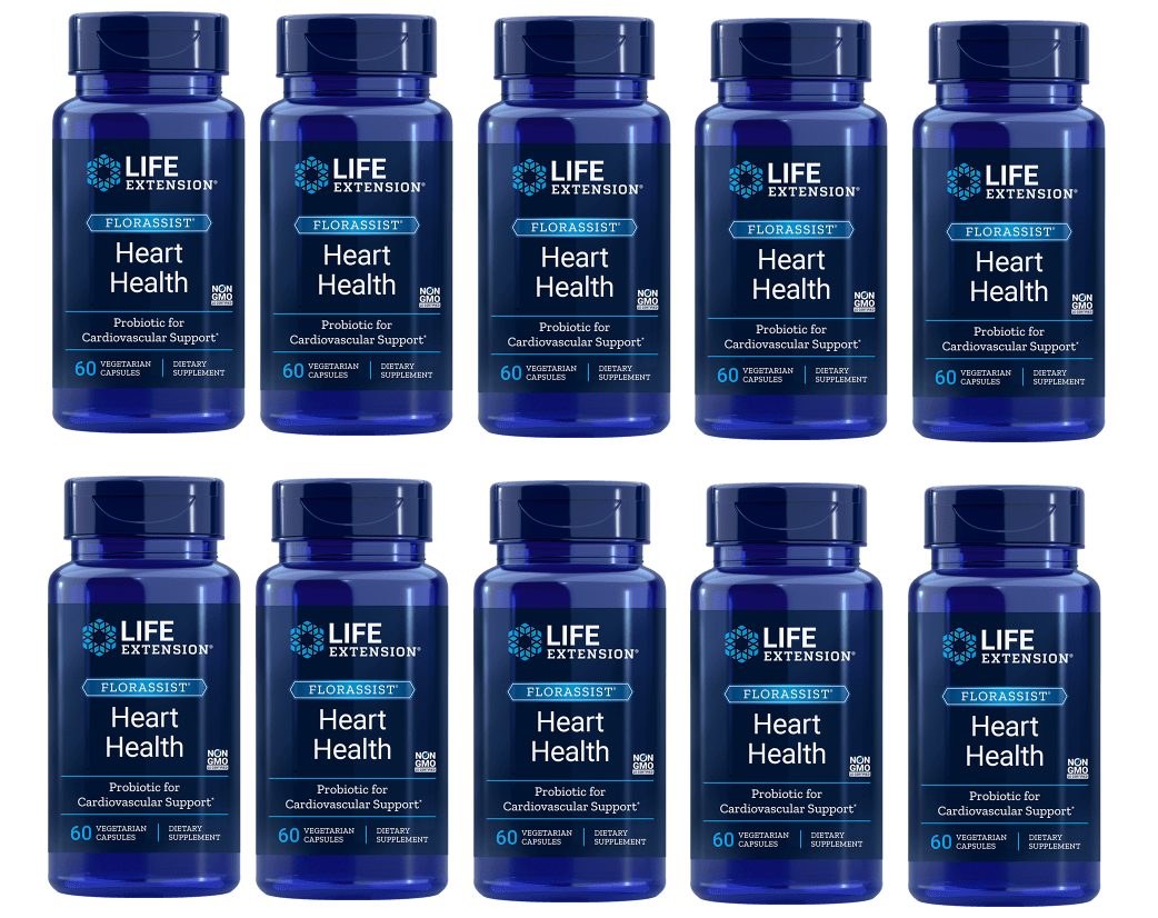 Life Extension Florassist® Heart Health Probiotic, 10-pack