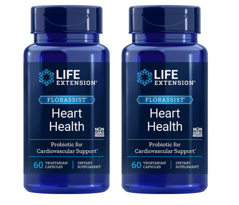 Life Extension Florassist® Heart Health Probiotic, 2-pack