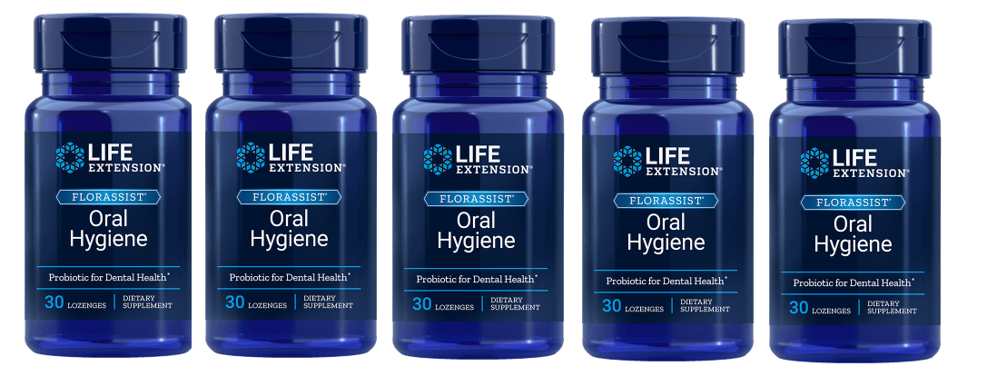 Life Extension Florassist® Oral Hygiene, 5-pack