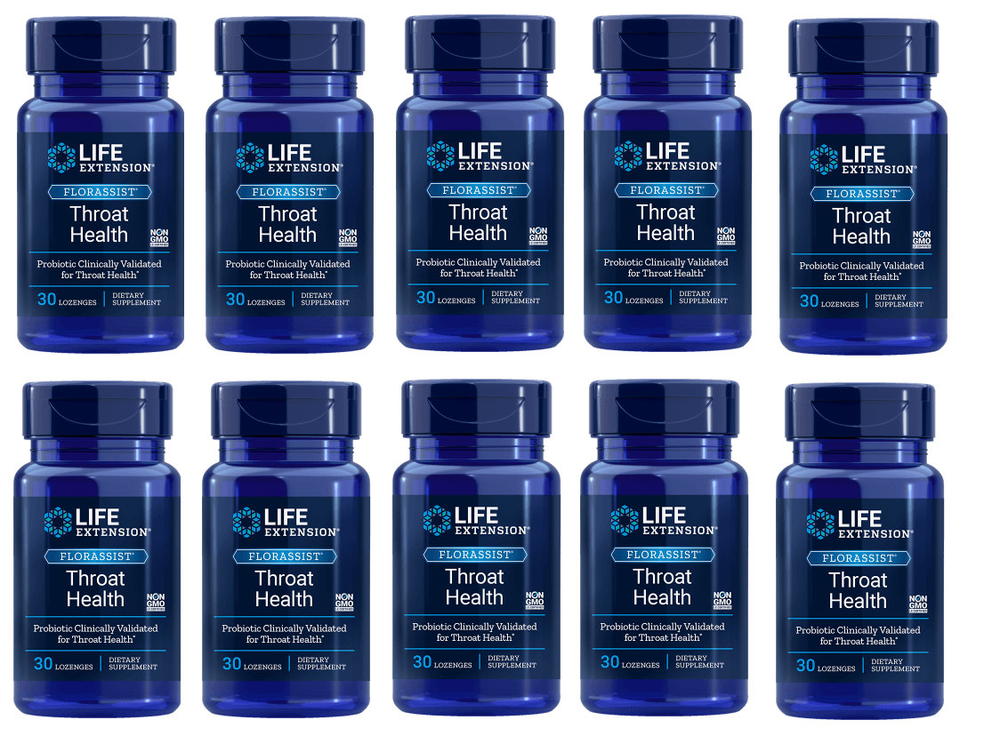Life Extension Florassist® Throat Health, 10-pack