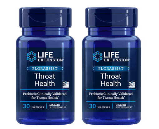 Life Extension Florassist® Throat Health, 2-pack