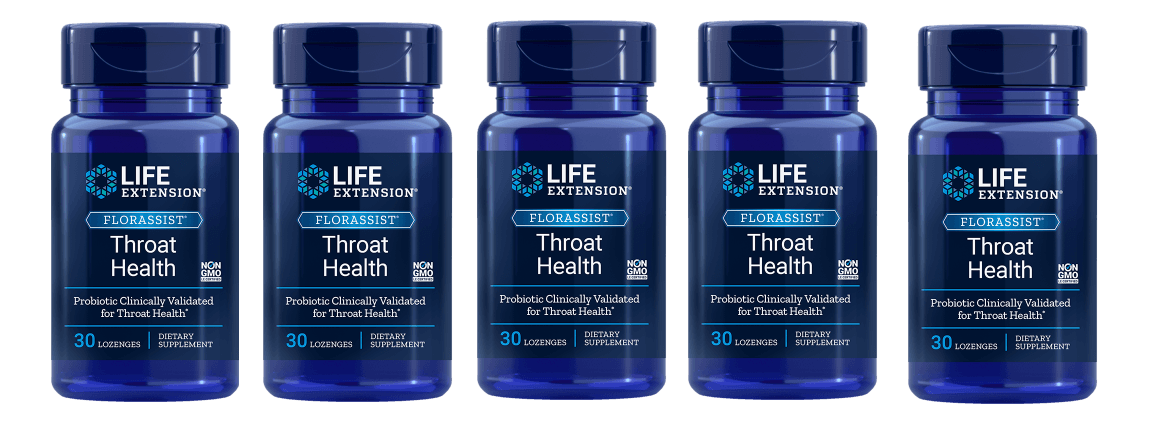 Life Extension Florassist® Throat Health, 5-pack