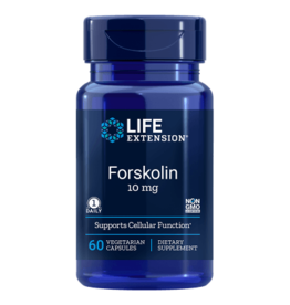 Life Extension Forskolin, 10 Mg 60 Vegetarian Capsules