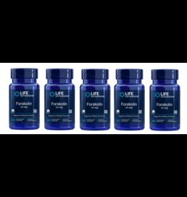 Life Extension Forskolin, 10 Mg 60 Vegetarian Capsules, 5-pack
