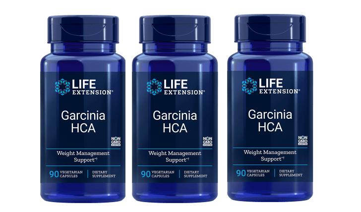 Life Extension Garcinia HCA, 90 Vegetarian Capsules, 3-pack