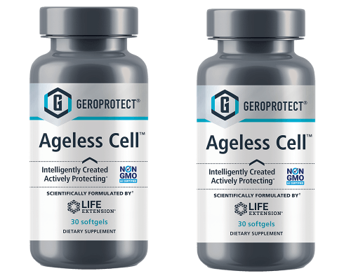 Life Extension Geroprotect Ageless Cell, 30 Softgels, 2-pack