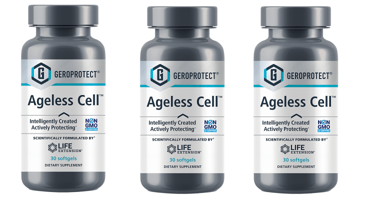 Life Extension Geroprotect Ageless Cell, 30 Softgels, 3-pack