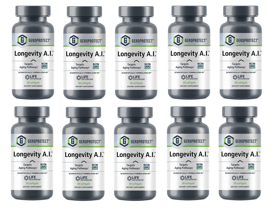 Life Extension Geroprotect Longevity A.I. 10-pack