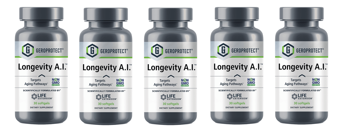 Life Extension Geroprotect Longevity A.I. 5-pack