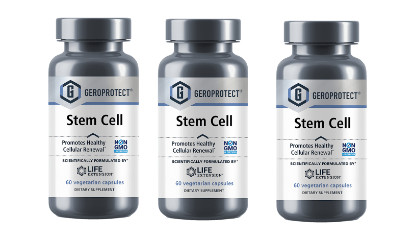 Life Extension Geroprotect® Stem Cell, 60 Vegetarian Capsules, 3-pack
