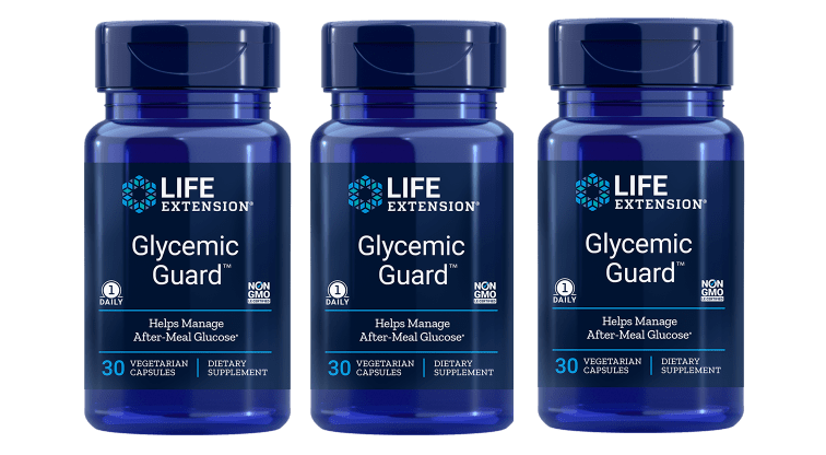 Life Extension Glycemic Guard, 30 Vegetarian Capsules, 3-pack