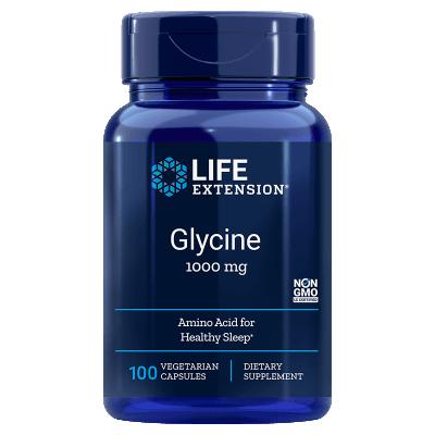 Life Extension Glycine, 100 Vegetarian Capsules