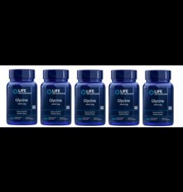 Life Extension Glycine, 1000 Mg 100 Vegetarian Capsules, 5-pack