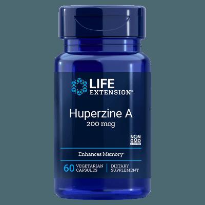 Life Extension Huperzine A, 60 Vegetarian Capsules