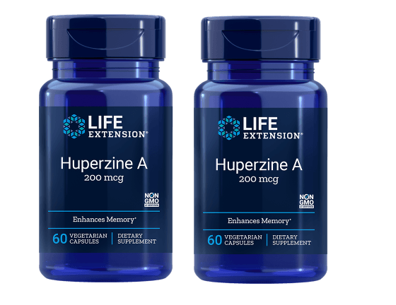 Life Extension Huperzine A, 60 Vegetarian Capsules, 2-pack