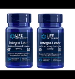 Life Extension Integra-lean® Irvingia 60 Vegetarian Capsules, 2-pack