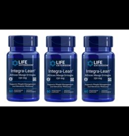Life Extension Integra-lean® Irvingia 60 Vegetarian Capsules, 3-pack