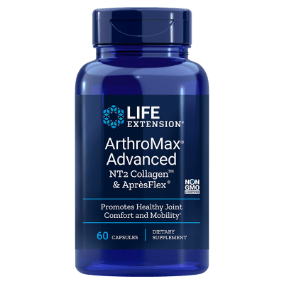 Life Extension Arthromax® Advanced with NT2 Collagen™ & AprèsFlex®