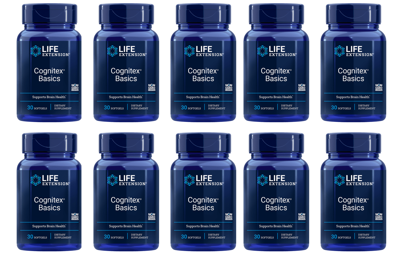 Life Extension Cognitex Basics, 10-pack