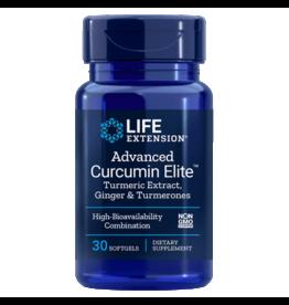 Life Extension Advanced Curcumin Elite™ Turmeric Extract, Ginger & Turmerones, 30 Softgels