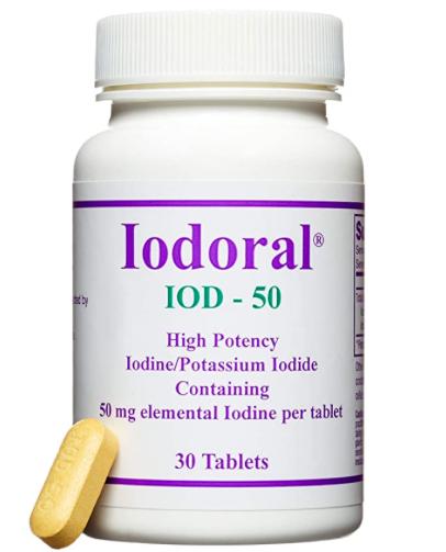 Optimox Iodoral, 50 Mg, 30 Tablets, 10-pack