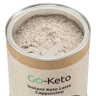 Life Extension Go-Keto Instant Cappuccino 60/40 MCT, 250 Mg