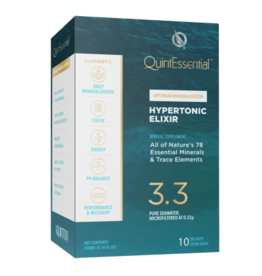 Quicksilver Scientific Quintessential® Hypertonic Elixir 3.3, 10 Sachet
