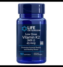 Life Extension Low-Dose Vitamin K2, 45 mcg, 90 Softgels