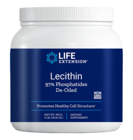 Life Extension Lecithin (97% Phosphatides de-oiled), 454 grams