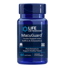 Life Extension MacuGuard Ocular Support wIth Astaxanthin, 60 Softgels