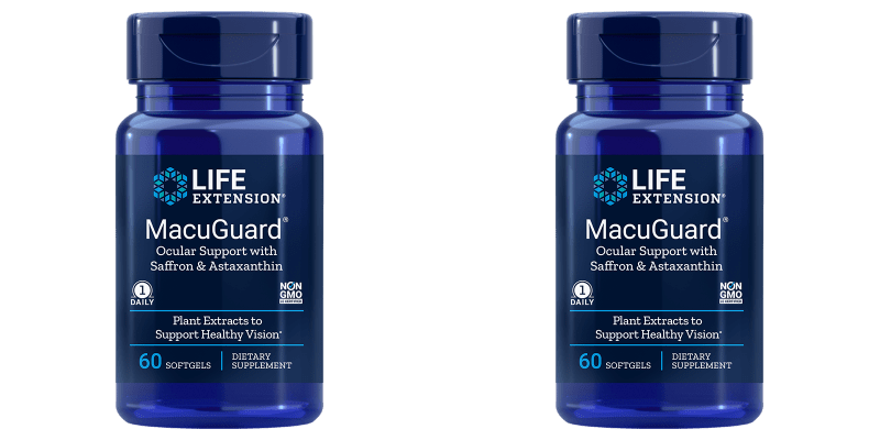 Life Extension Macuguard Ocular Support With Astaxanthin, 2-pack