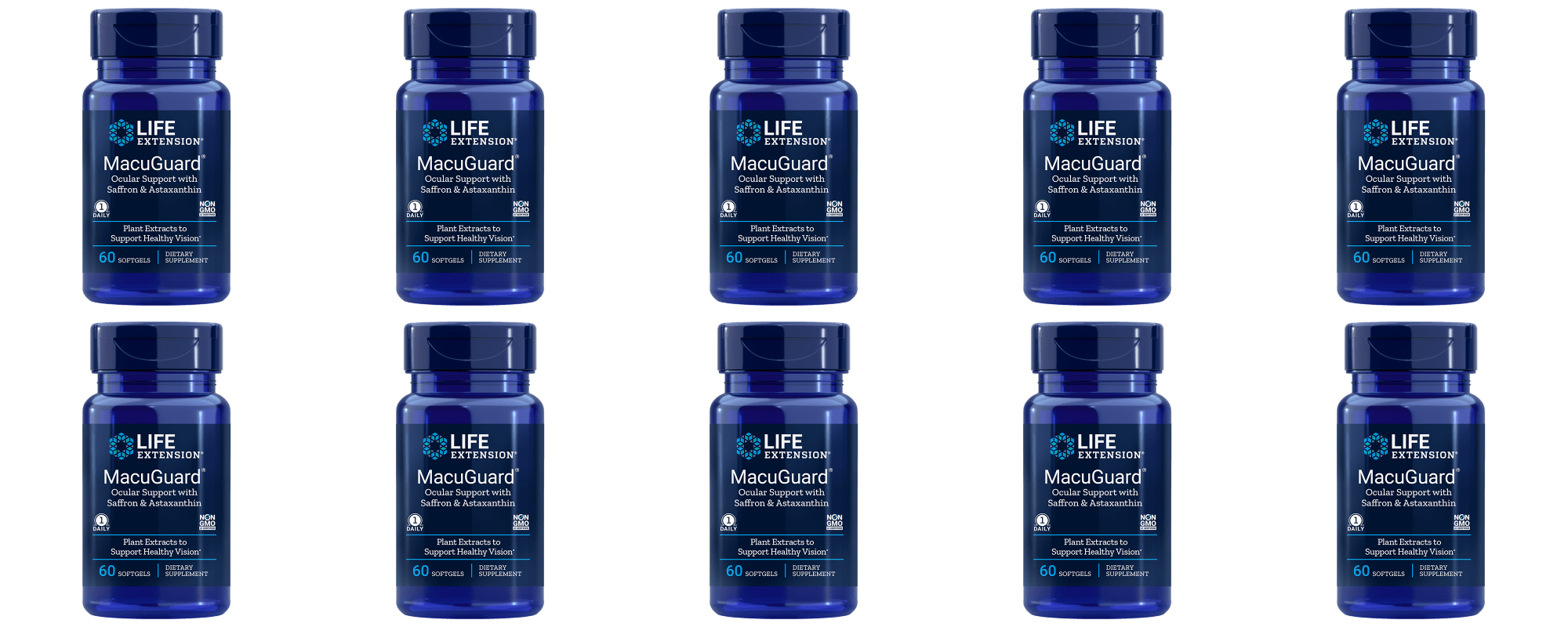 Life Extension Macuguard® Ocular Support With Astaxanthin 10-pack
