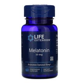 Life Extension Melatonin, 10mg, 60 Vegetarian Capsules