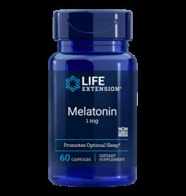 Life Extension Melatonin, 1 Mg, 60 Capsules