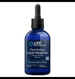 Life Extension Fast-Acting Liquid Melatonin, 3 Mg 2 Oz.