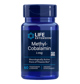 Life Extension Methylcobalamin, 1 Mg 60 Lozenges