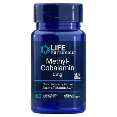 Life Extension Methylcobalamin, 1 Mg 60 Lozenges