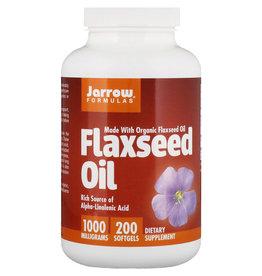 Jarrow Formulas Organic Flaxseed Oil, 1000 Mg, 200 Softgels