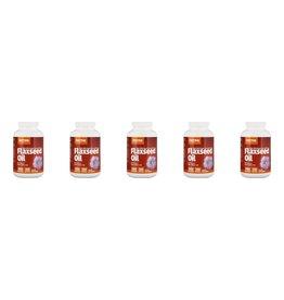 Jarrow Formulas Organic Flaxseed Oil, 1000 Mg, 200 Softgels, 5-packs