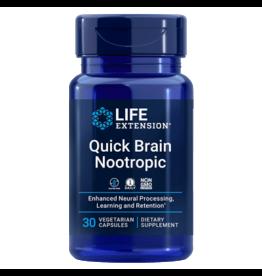 Life Extension Quick Brain Nootropic, 30 Vegetarian Capsules