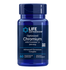 Life Extension Optimized Chromium With Crominex 3+, 500 Mcg, 60 Vegetarian Capsules