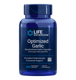 Life Extension Optimized Garlic, 200 vegetarian capsules