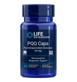 Life Extension PQQ Caps with PQQ, 20 mg, 30 Vegetarian Capsules