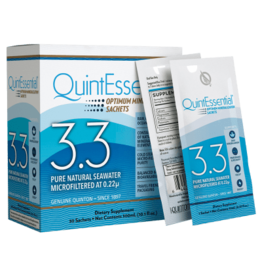 Quicksilver Scientific Quintessential® Hypertonic Elixir 3.3, 30 Sachet