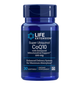 Life Extension Super Ubiquinol CoQ10 | 100 Mg 30 Softgels